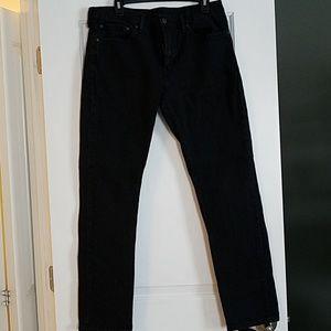 Levi's 511 black jeans